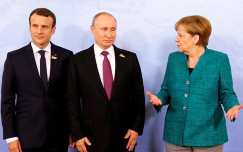 Possible rencontre entre la Russie, la France et l'Allemagne