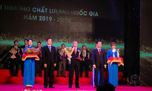 ซี.พี. เวียดนามรับรางวัลเหรียญทองคุณภาพแห่งชาติในปี 2020