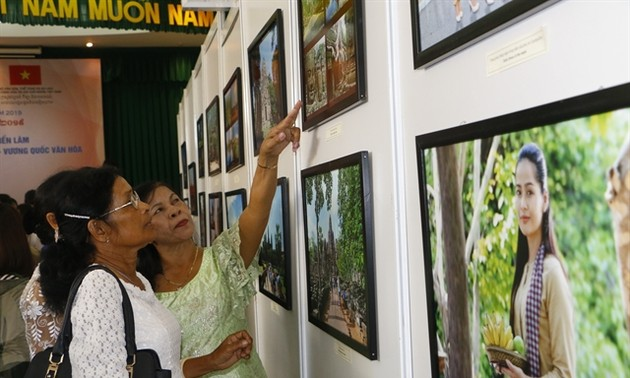 Exhibition on Cambodian culture underway in Can Tho