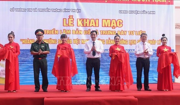 Hoang Sa, Truong Sa exhibition underway in Binh Thuan