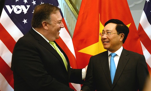 US Secretary of State begins Vietnam visit