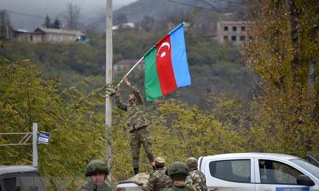 Major countries call for withdrawal of foreign mercenaries from Nagorno-Karabakh