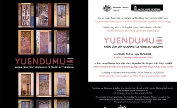 Yuendumu Doors introduces Australia's aboriginal culture to Hanoians