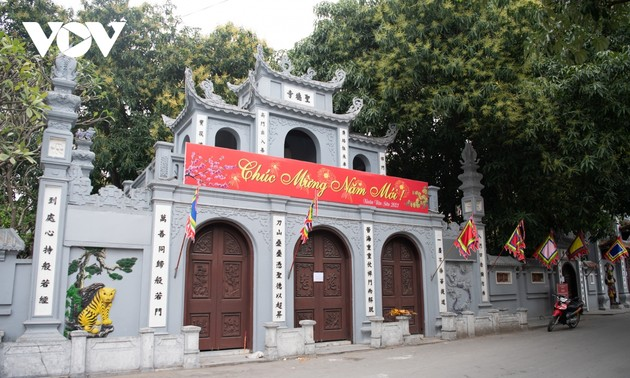Temples, pagodas in Hanoi close during the COVID-19 pandemic