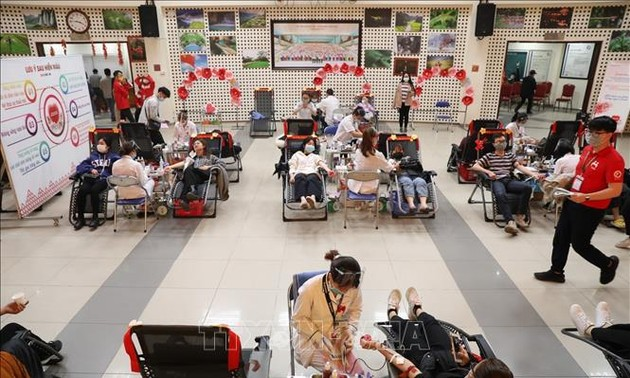 Spring blood donation drive surpasses target