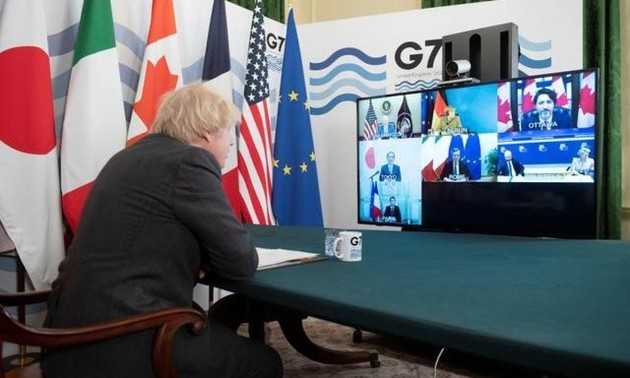 G7 foreign ministers discuss relations with China, Russia