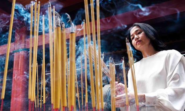 The journey of incense sticks