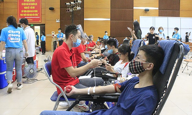 Annual blood donation drive to begin Wednesday in Hanoi