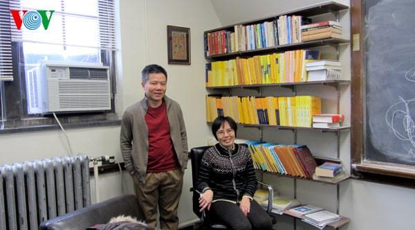 Ngỡ ngàng thăm nơi làm việc của GS Ngô Bảo Châu tại Mỹ