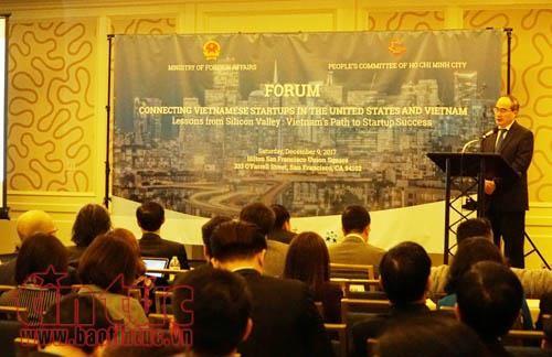 Kết nối các doanh nghiệp khởi nghiệp sáng tạo của người Việt tại Mỹ và Việt Nam