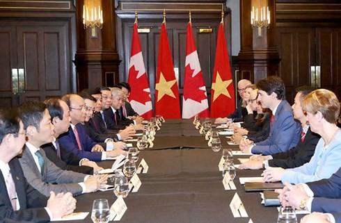 Thủ tướng Nguyễn Xuân Phúc kết thúc chuyến tham dự Hội nghị Thượng đỉnh G7 mở rộng và thăm Canada