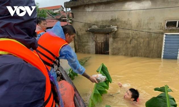 Chính phủ Mỹ chia sẻ với Việt Nam về những thiệt hại do lũ lụt ở các tỉnh miền Trung