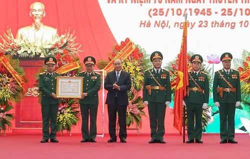Tổng cục Tình báo Quốc phòng được tặng Huân chương Bảo vệ Tổ quốc hạng Nhất