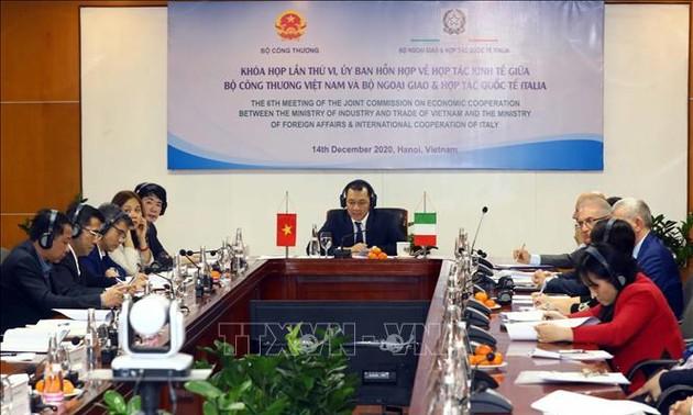 Thúc đẩy hợp tác thương mại Việt Nam - Italy