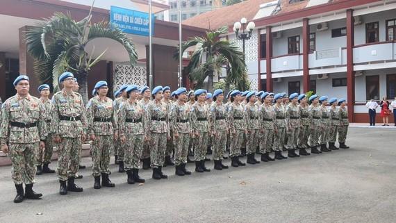 Việt Nam huấn luyện đợt cuối cho lực lượng tham gia gìn giữ hòa bình ở Nam Sudan