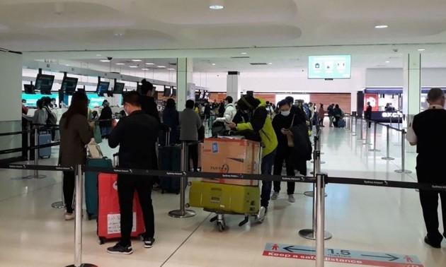 Đưa 340 công dân Việt Nam từ Australia và New Zealand về nước