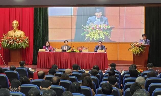 Phó Thủ tướng Vũ Đức Đam dự Hội nghị triển khai nhiệm vụ Bộ Văn hóa, Thể thao và Du lịch