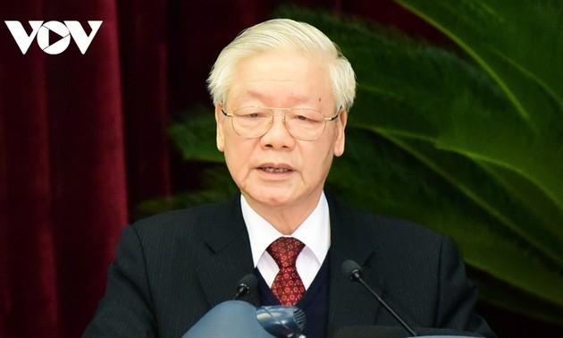 Toàn văn phát biểu bế mạc Hội nghị Trung ương 15 của Tổng Bí thư, Chủ tịch nước