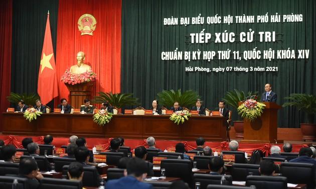 Thủ tướng Nguyễn Xuân Phúc nhấn mạnh 3 trụ cột phát triển của Thành phố Hải Phòng
