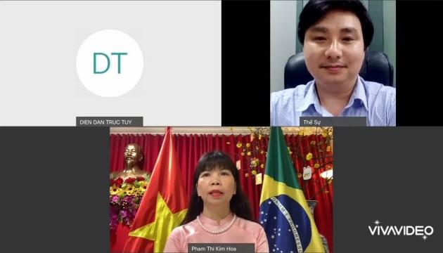 Thúc đẩy mạnh mẽ thương mại Việt Nam - Brasil