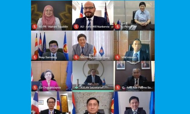 Australia ủng hộ vai trò trung tâm của ASEAN trong duy trì hòa bình khu vực