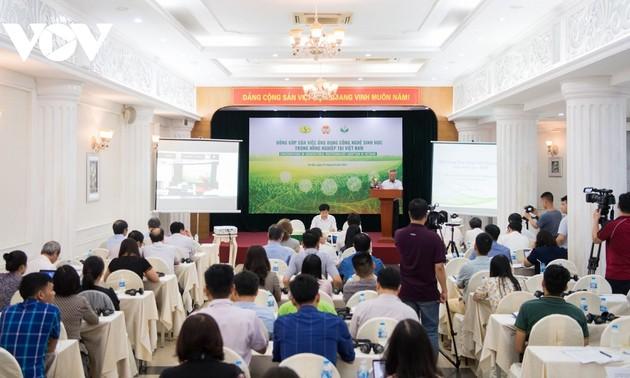 Ứng dụng công nghệ sinh học trong nông nghiệp tại Việt Nam