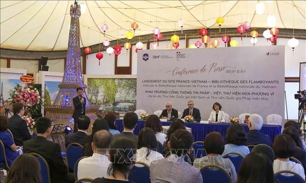 Khai trương cổng thông tin Pháp-Việt chia sẻ tài liệu lịch sử quý hiếm về Việt Nam