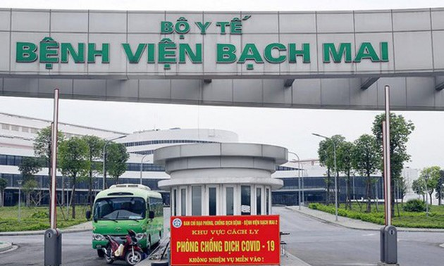 Bệnh viện dã chiến Bạch Mai cơ sở 2 chiều nay đón 50 F1 vào cách ly