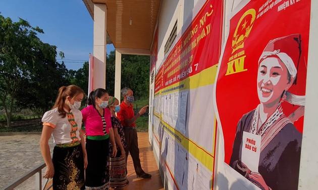 Các địa phương sẵn sàng cho ngày bầu cử sớm