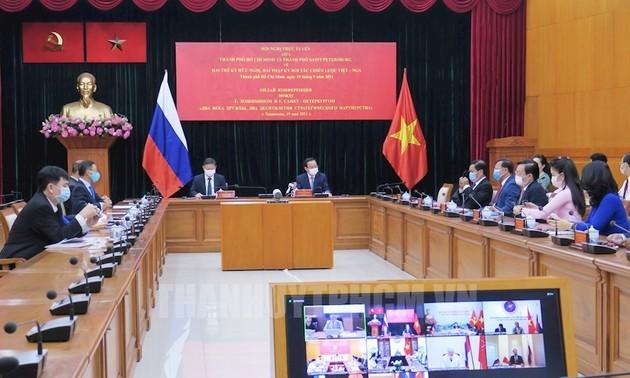 Thành phố Hồ Chí Minh và thành phố Saint Petersburg thúc đẩy hợp tác song phương