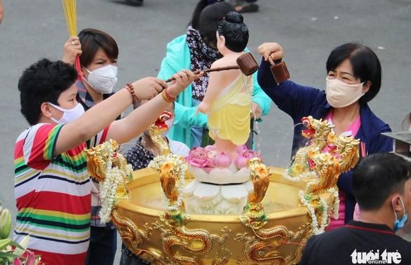 """Phát động tuần lễ """"Tắm Phật online - Nhân hai công đức"""", đóng góp quỹ phòng, chống dịch COVID-19"""