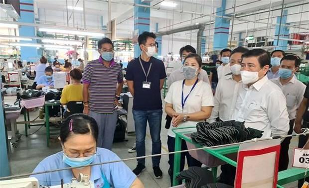 Thành phố Hồ Chí Minh sẽ có gói hỗ trợ cho doanh nghiệp gặp khó khăn do dịch bệnh Covid-19