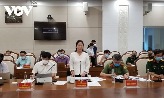 Bộ Y tế làm việc với tỉnh Quảng Ninh về phương án cách ly y tế 7 ngày đối với người nhập cảnh
