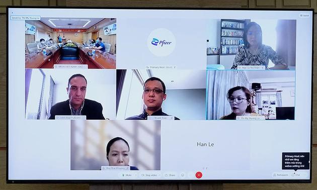 Pfizer cam kết đảm bảo cung ứng 20 triệu liều vaccine cho Việt Nam trong quý IV