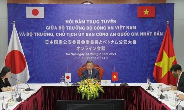 Tăng cường hợp tác giữa Bộ Công an Việt Nam và Ủy ban Công an Quốc gia Nhật Bản