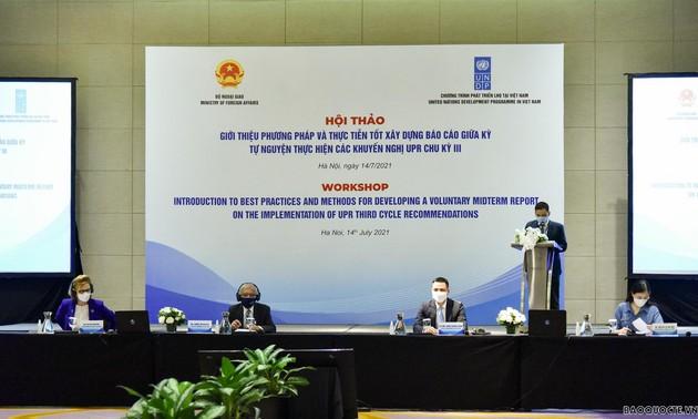 Việt Nam chủ động bảo vệ và thúc đẩy quyền con người