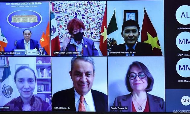 Khuyến khích trao đổi, hợp tác giữa bộ, ngành Việt Nam - Mexico dưới nhiều hình thức
