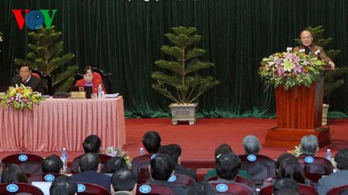 Chủ tịch Quốc hội Nguyễn Sinh Hùng dự Kỳ họp thứ 8, HĐND tỉnh Hà Tĩnh