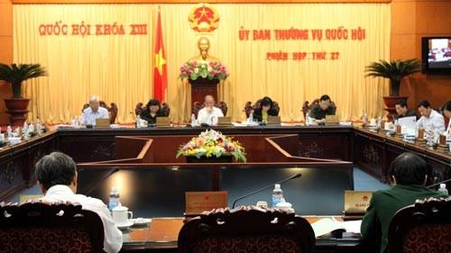 Ủy ban Thường vụ Quốc hội cho ý kiến về Dự án Luật tổ chức Tòa án nhân dân (sửa đổi)