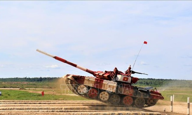 Vietnamese team takes first place at International Army Games semi-finals