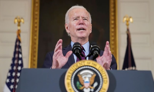 Biden signs historic 1.9 trillion USD stimulus bill into law on US lockdown anniversary