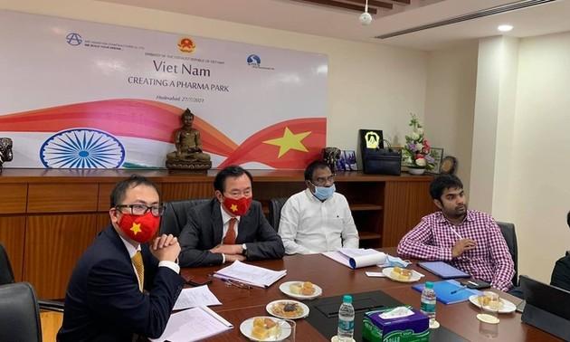 India seeks to pour 500 million USD into Vietnam pharmaceutical hub