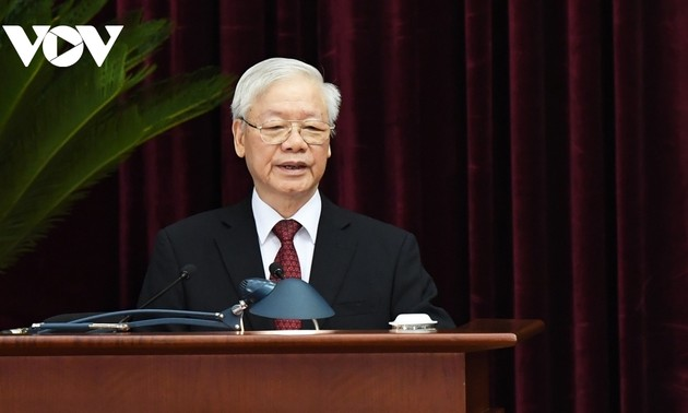Party leader encourages Party Committee, administration and people of Ho Chi Minh City
