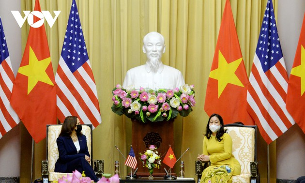 US Vice President Kamala Harris begins Vietnam visit