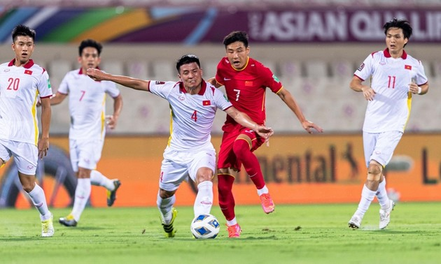 Vietnam lose 2-3 to China in World Cup qualifier