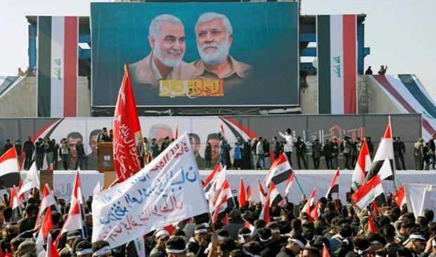 В Ираке происходят массовые демонстрации в память о Касеме Сулеймани