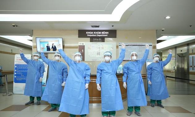Добросовестные врачи в борьбе с пандемией коронавируса