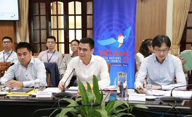 Подведены итоги работы межотраслевой рабочой группы по участию Вьетнама в Совбезе