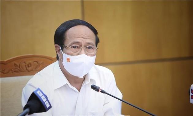 Бакзянг стремится восстановить производство наряду с противодействием эпидемии