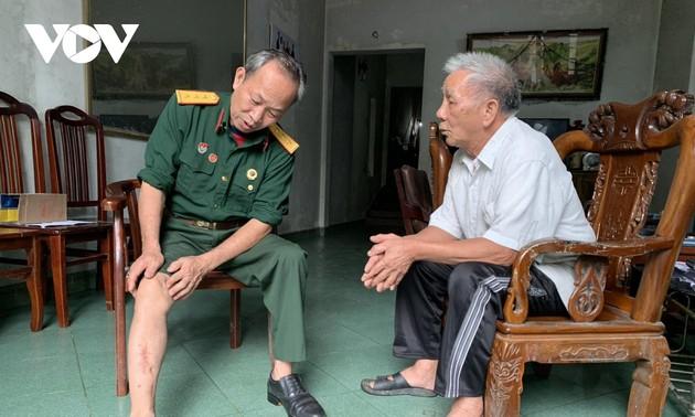 Бывший ветеран войны принимает активное участие в социальной работе